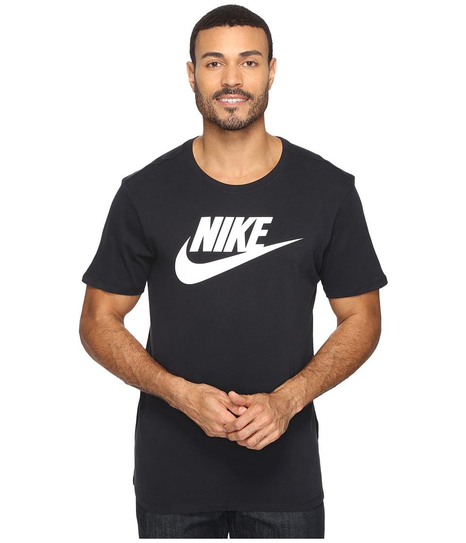 Nike Futura Icon Tee (Black/Black/White) Men