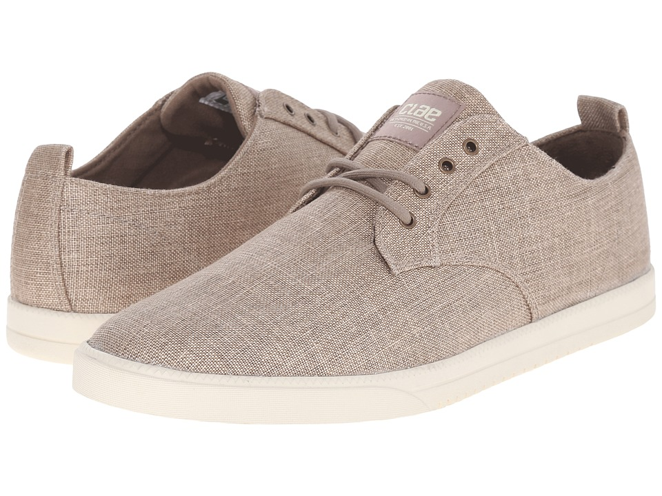 Clae Ellington Textile Boulder Canvas Mens Shoes