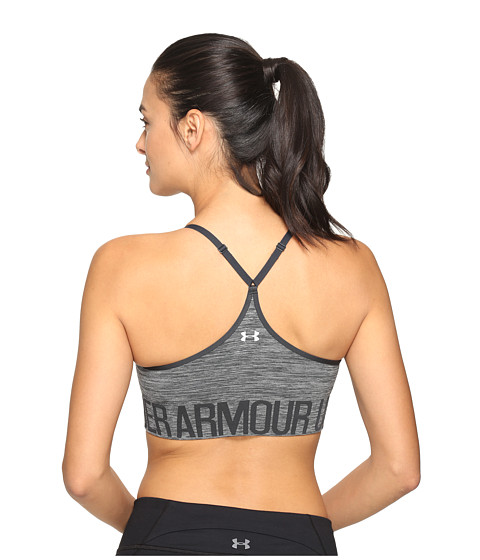 Under Armour Armour Seamless Streaky w/ Cups - Carbon Heather