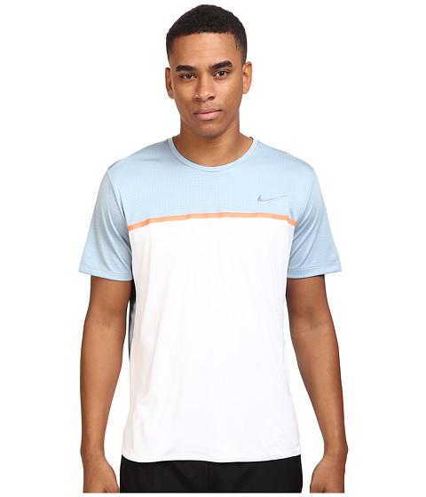 Nike Challenger Crew - White/Bright Mango/Blue Grey