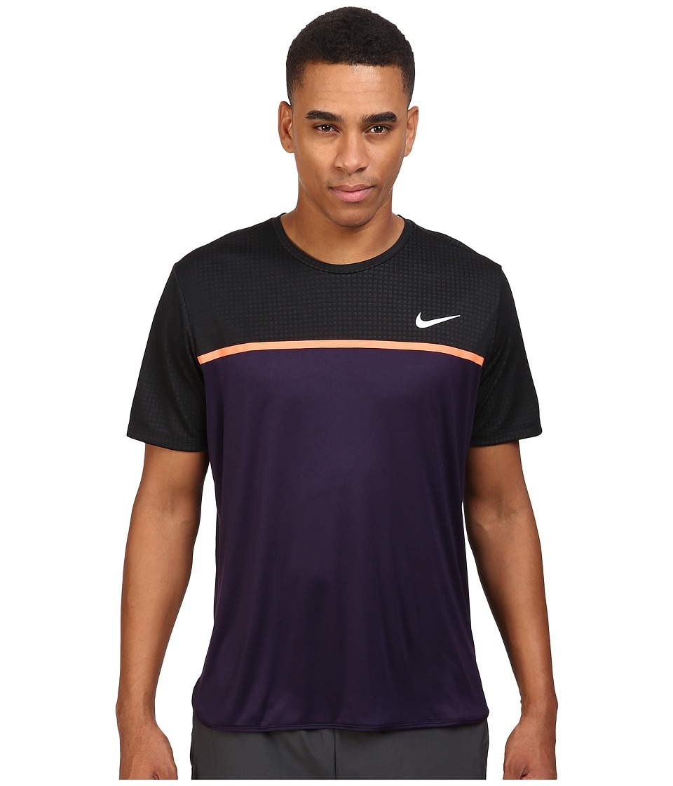 Nike Challenger Crew (Purple Dynasty/Bright Mango/White) Men