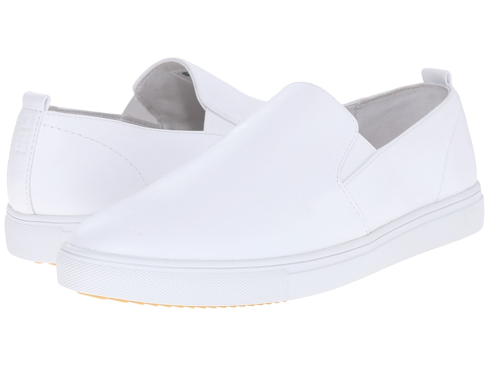 Clae Garvey SP White Tumbled Leather Mens Shoes