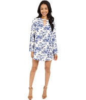 Brigitte Bailey - Hayden Printed Swing Dress with High Neck
