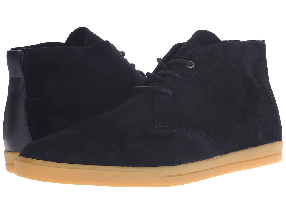 Clae Strayhorn Unlined Black Gum Mens Shoes