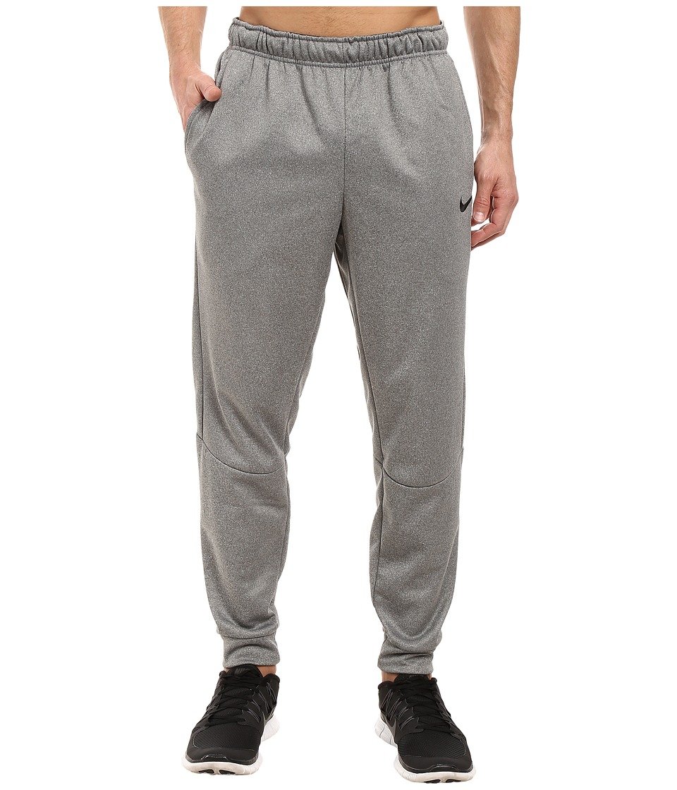Nike Therma Tapered Training Pant (Carbon Heather/Black) Men