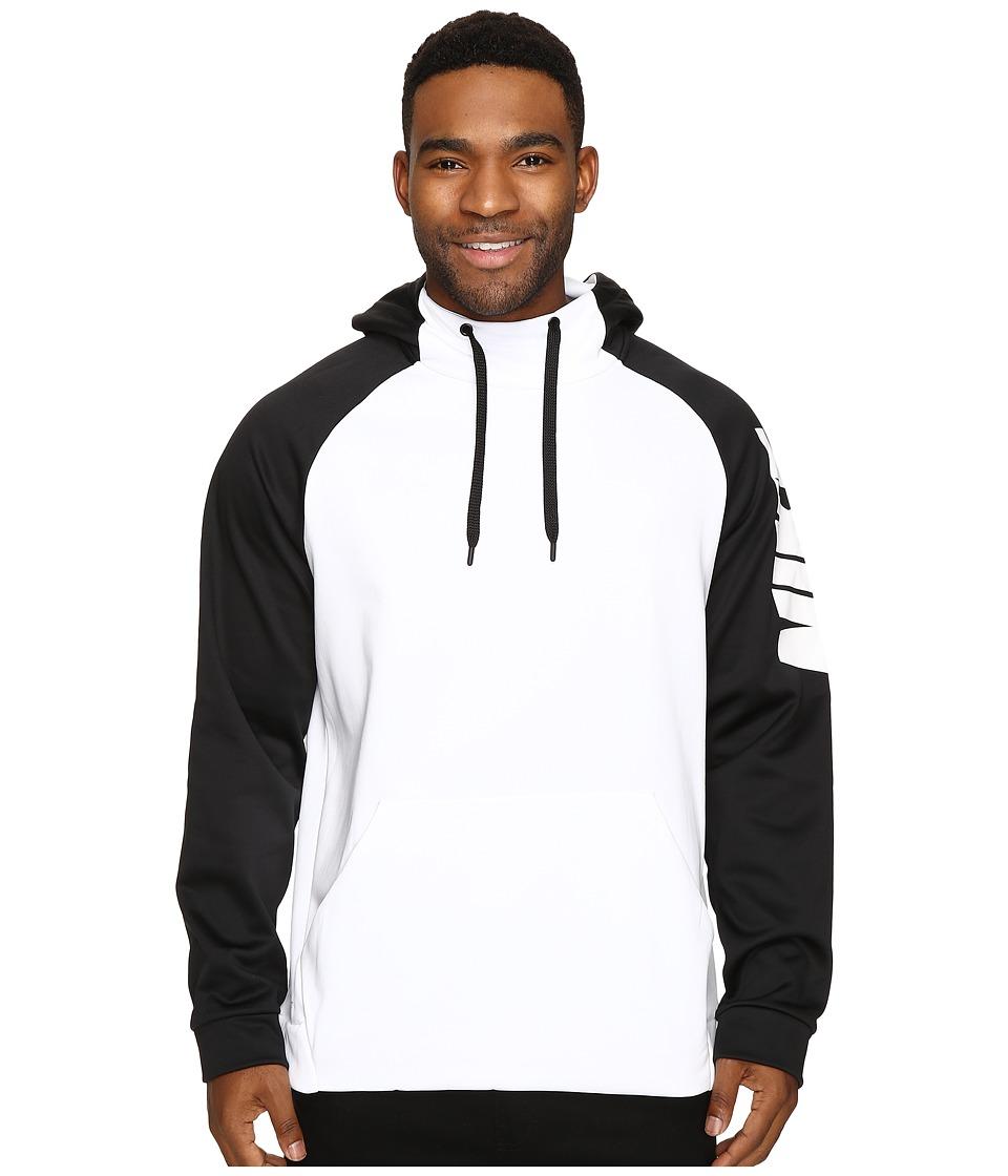 Nike Therma Training Hoodie (White/Black/White) Men