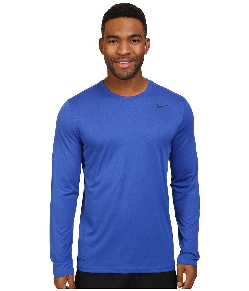Nike Legend 2.0 Long Sleeve Tee (Game Royal/Black) Men