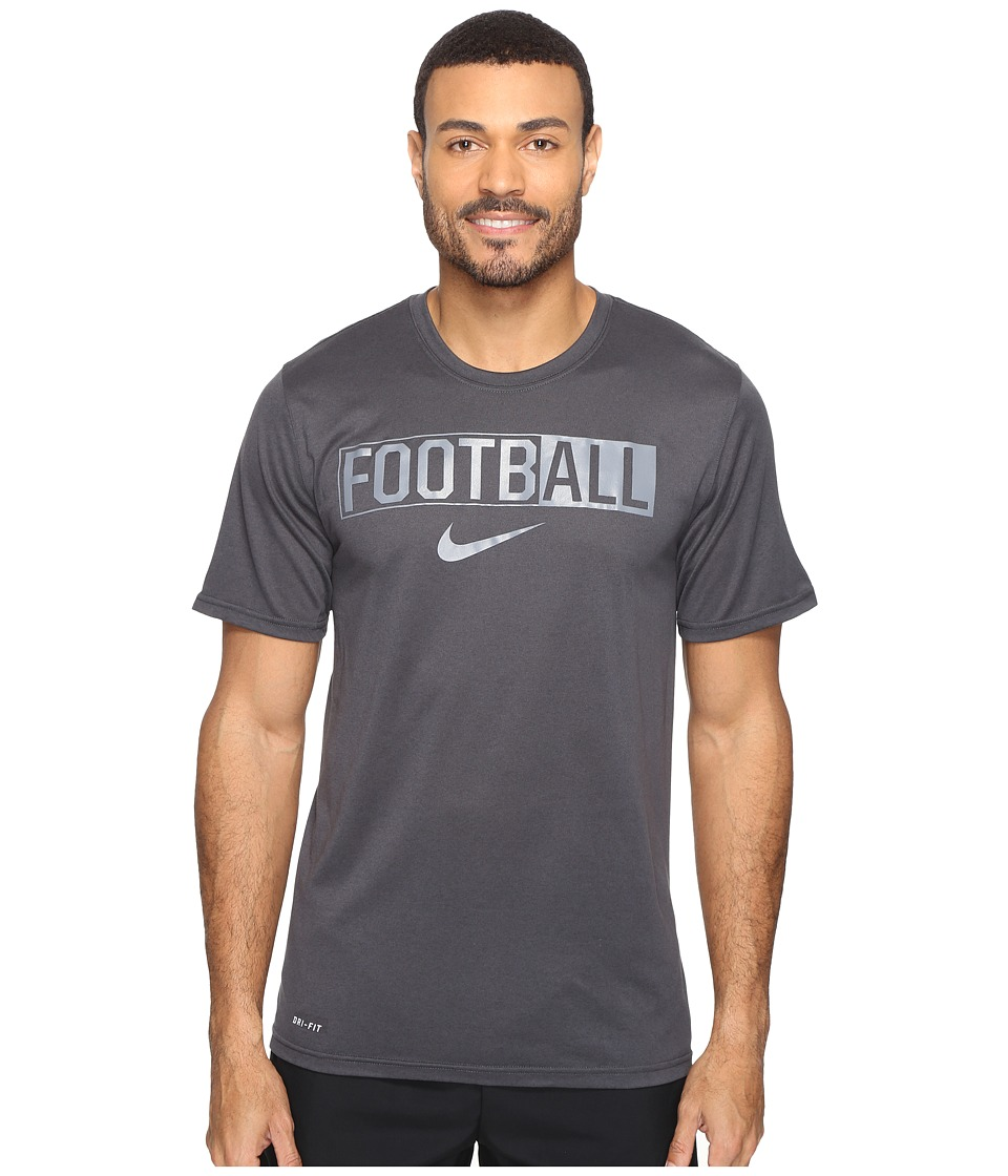 Nike All For Football Tee (Anthracite/Cool Grey) Men