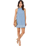 Brigitte Bailey - Kinley Embroidered Denim Dress
