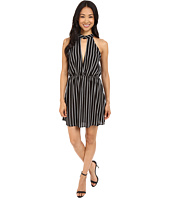 Brigitte Bailey - Sharna Striped Overlay Dress