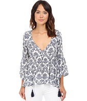 Brigitte Bailey - Kaylen Long Sleeve Top with Tassels