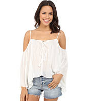 Brigitte Bailey - Cressida Cold Shoulder Top with Tassels