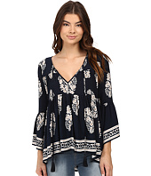 Brigitte Bailey - Naomi Printed Top with Bell Sleeves