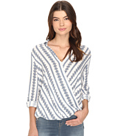 Brigitte Bailey - Cedany Long Sleeve Overlap Top
