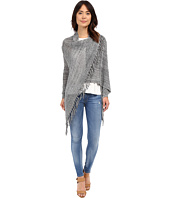 Christin Michaels - Arabell Long Sleeve Asymmetrical Fringe Cardigan
