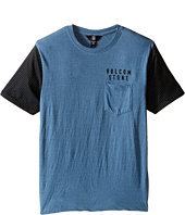 Volcom Kids - Vander Short Sleeve Shirt (Big Kids)