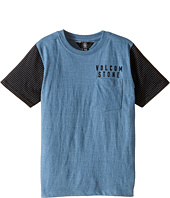 Volcom Kids - Vander Short Sleeve Crew (Toddler/Little Kids)