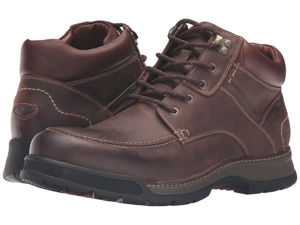 Johnston & Murphy XC4 Waterproof Thompson Moc Toe Boot (Tan Oiled Waterproof Full Grain) Men