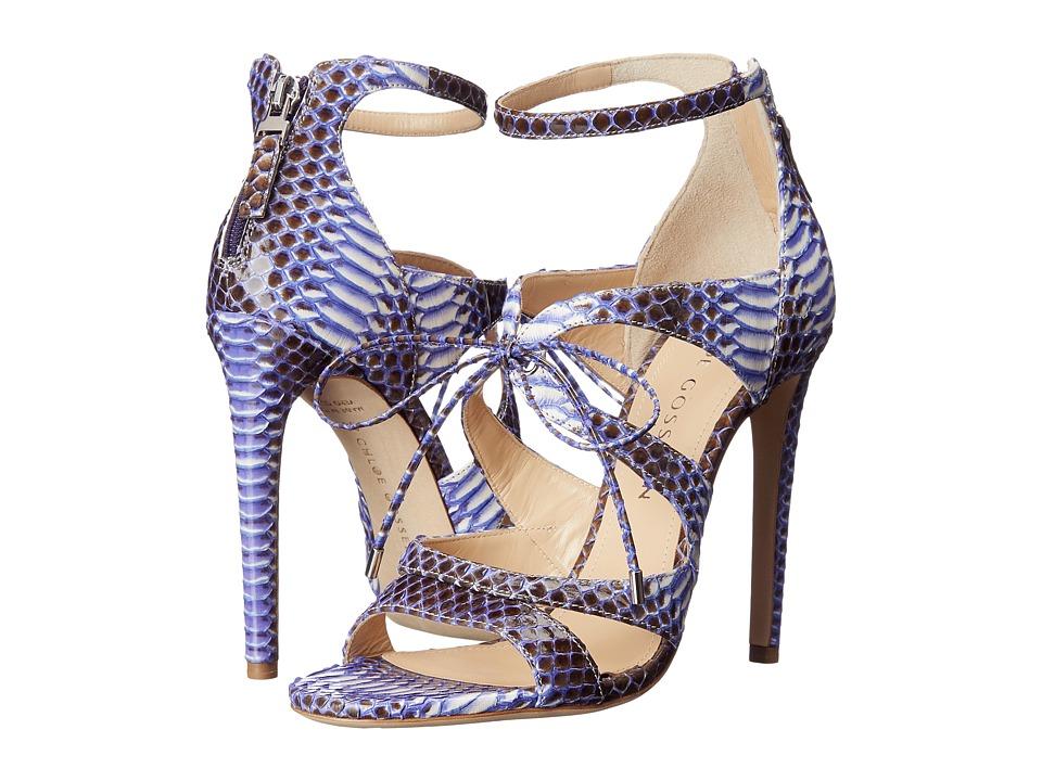 CHLOE GOSSELIN Bryonia Purple Womens Dress Sandals