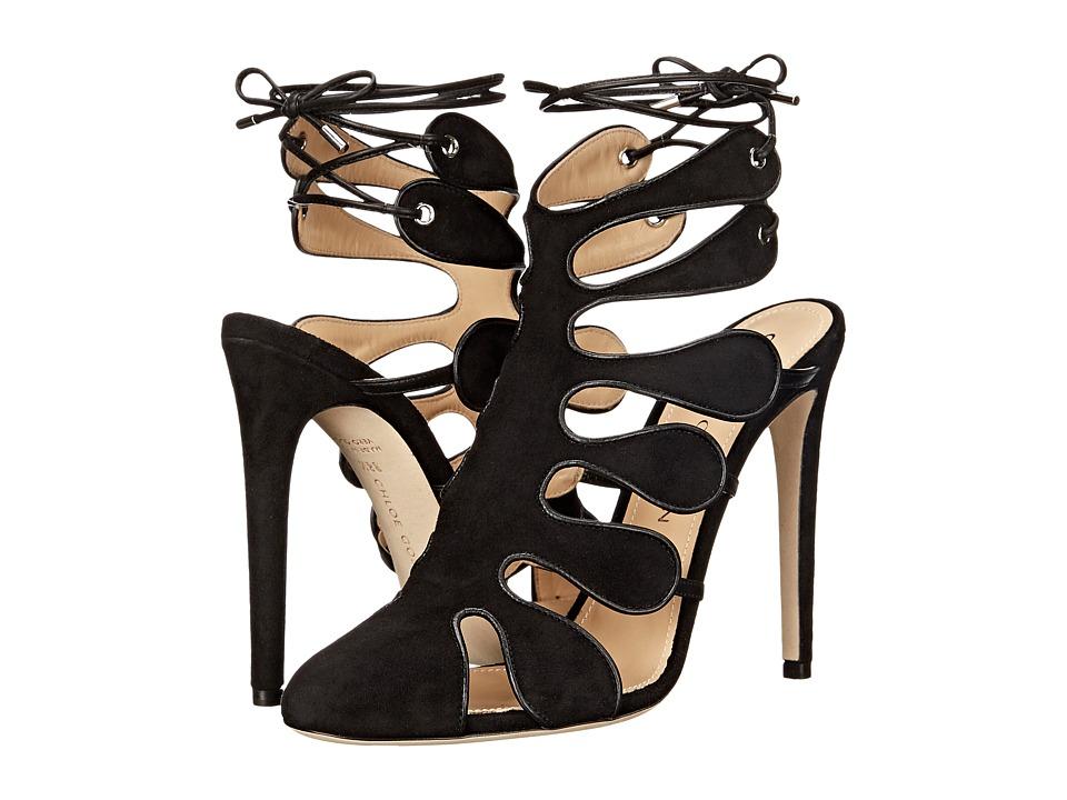 CHLOE GOSSELIN Calico Black Womens Dress Sandals