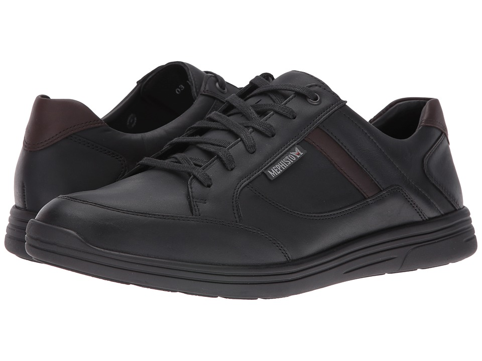 Mephisto - Frank (Black/Dark Brown Polo) Men