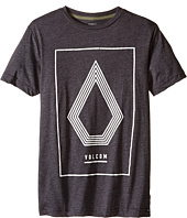 Volcom Kids - Line Art Short Sleeve Tee (Big Kids)