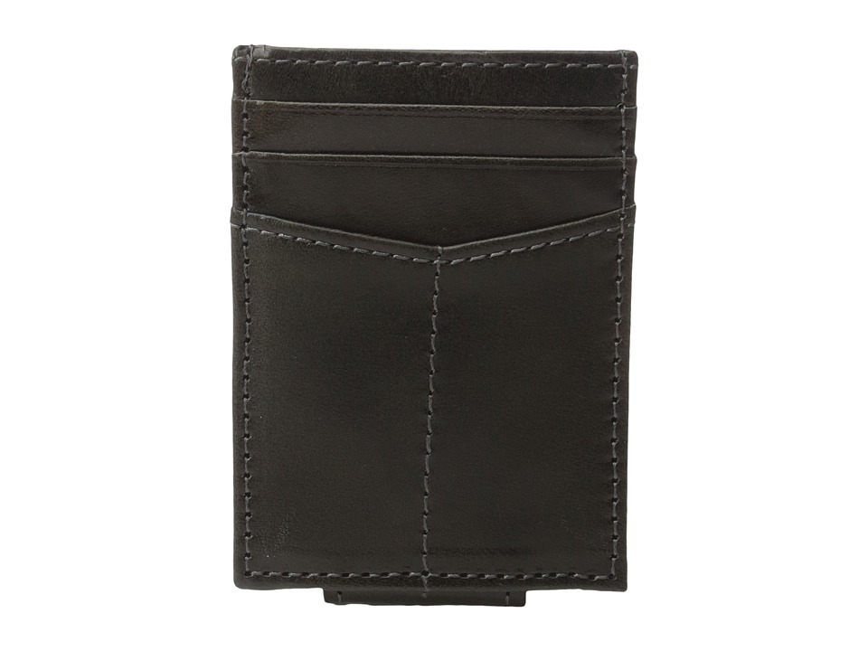 Johnston & Murphy - Front Pocket Wallet (Charcoal) Wallet Handbags