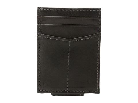 Johnston & Murphy Front Pocket Wallet - Charcoal