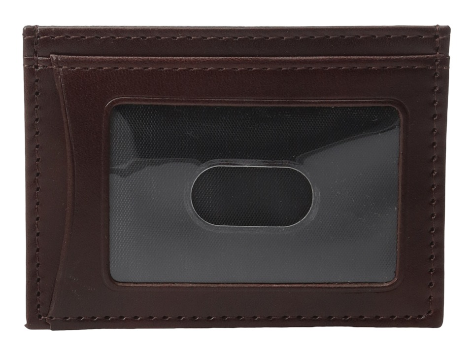 Johnston & Murphy - Weekender Case (Mahogany) Credit card Wallet