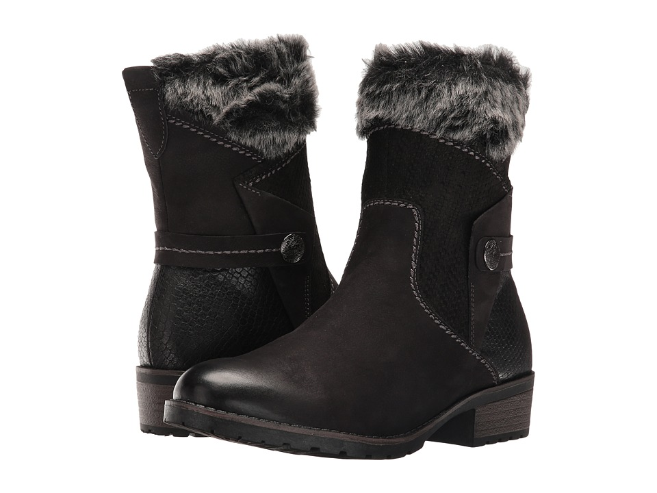 Vintage Style Boots Tamaris - Parai 1-1-25363-27 Black Combo Womens Boots $155.00 AT vintagedancer.com