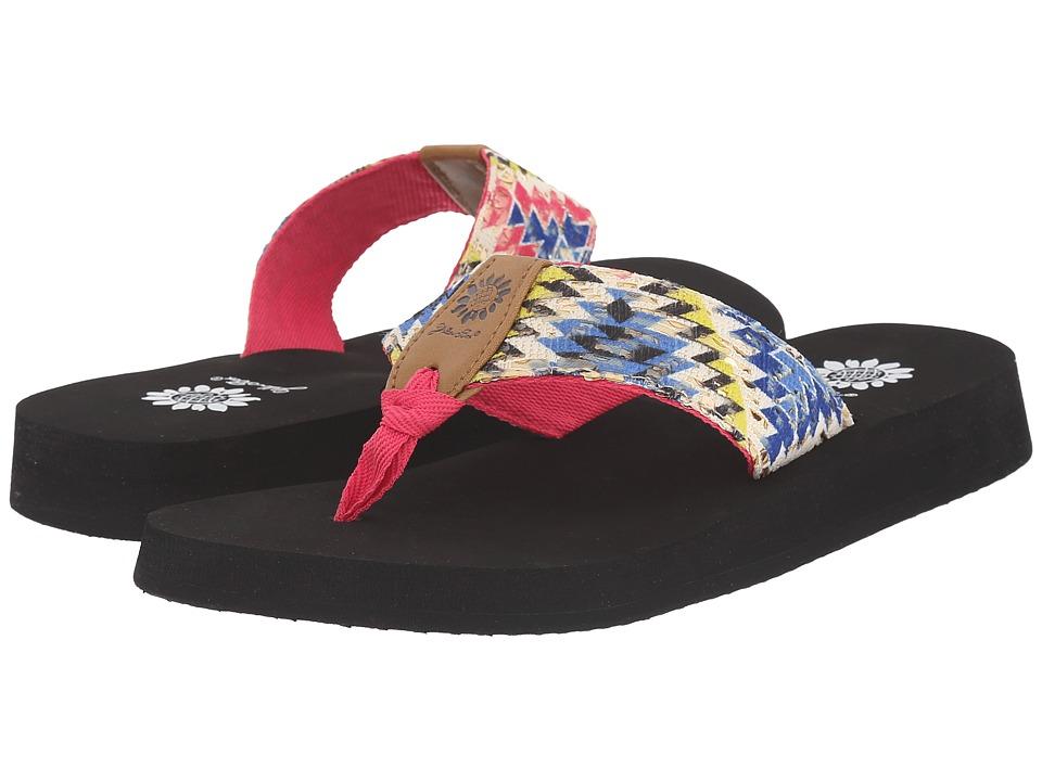 Yellow Box Kaden Fuchsia Womens Sandals