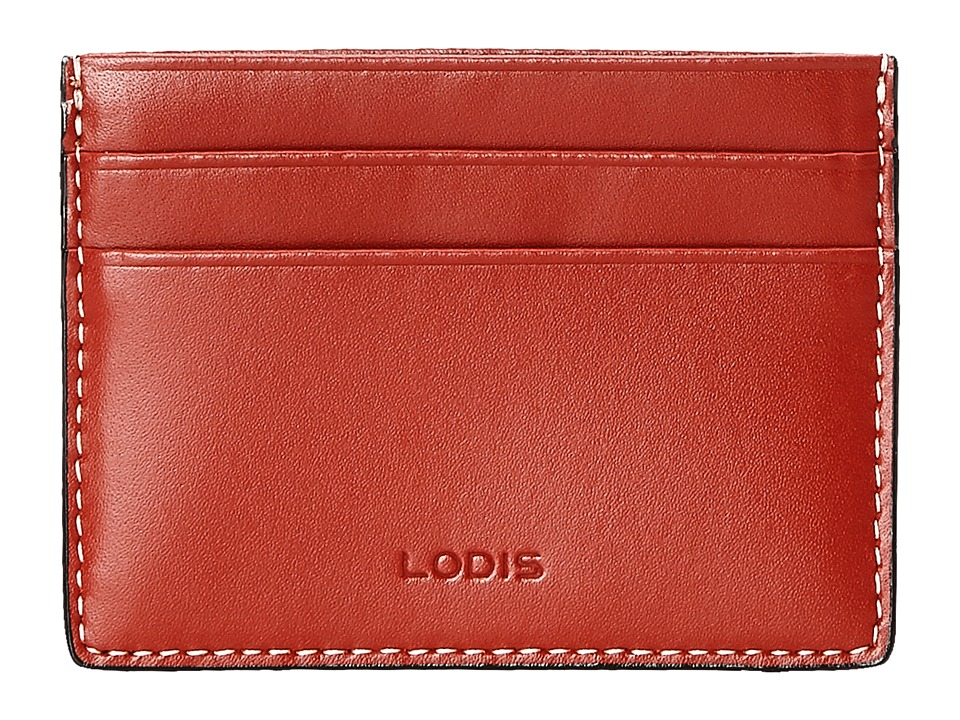 Lodis Accessories - Audrey Mini ID Card Case (Red) Credit card Wallet