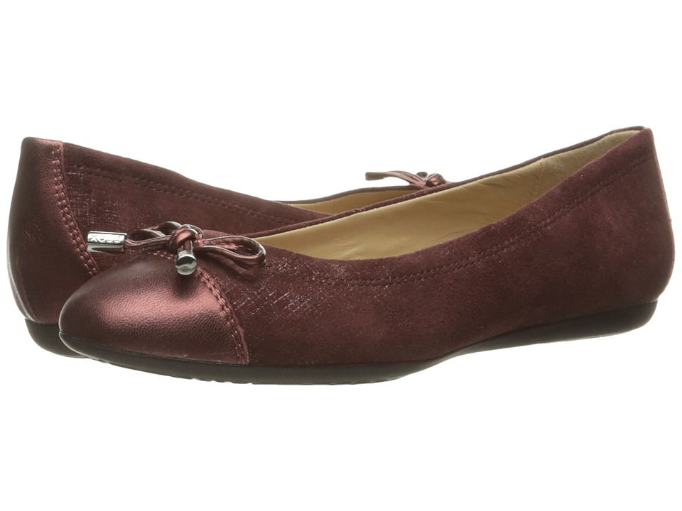 Geox WLOLA106 (Dark Burgundy/Bordeaux) Women