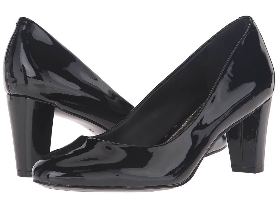 LAUREN Ralph Lauren Hala (Black Patent Leather) Women