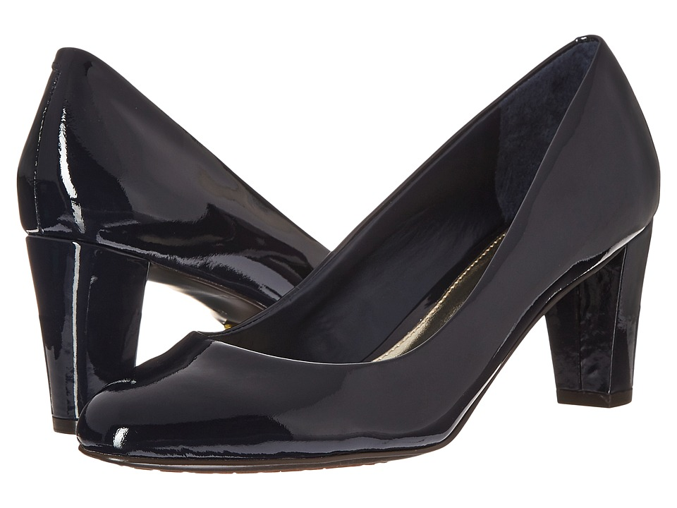 LAUREN Ralph Lauren Hala (Modern Navy Patent Leather) Women