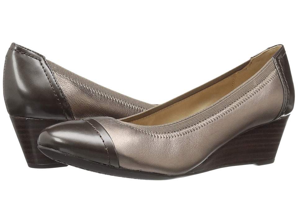 Geox WFLORALIE25 (Lead/Chestnut) Women