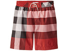 Burberry Kids Swim Check Shorts (Little Kids/Big Kids)