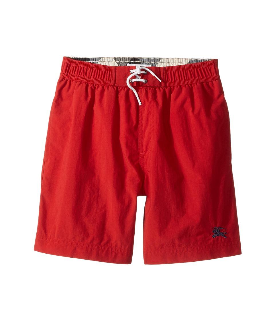 Burberry Kids - Pop Swim (Little Kids/Big Kids) (Military Red) Boys Swimwear