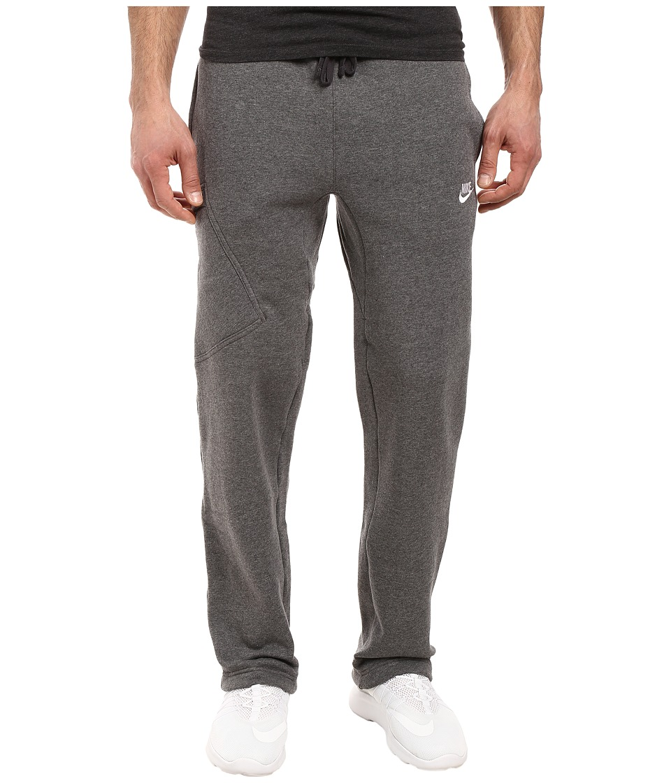 Nike Club Fleece Cargo Pant (Charcoal Heather/White) Men