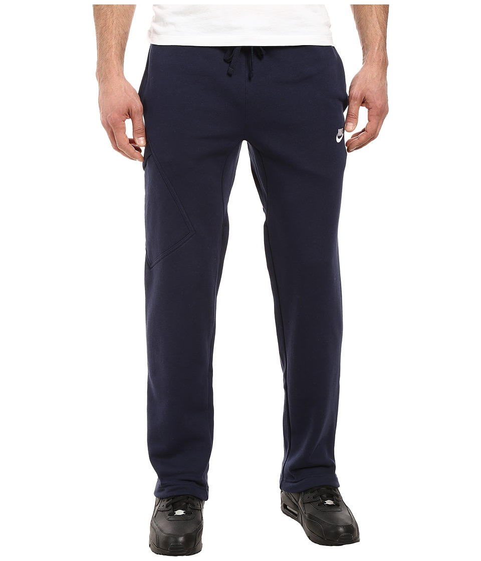 Nike Club Fleece Cargo Pant (Obsidian/White) Men