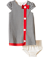 Us Angels - Houndstooth Cap Sleeve A-Line Dress (Infant)