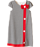 Us Angels - Houndstooth Cap Sleeve A-Line Dress (Little Kids)