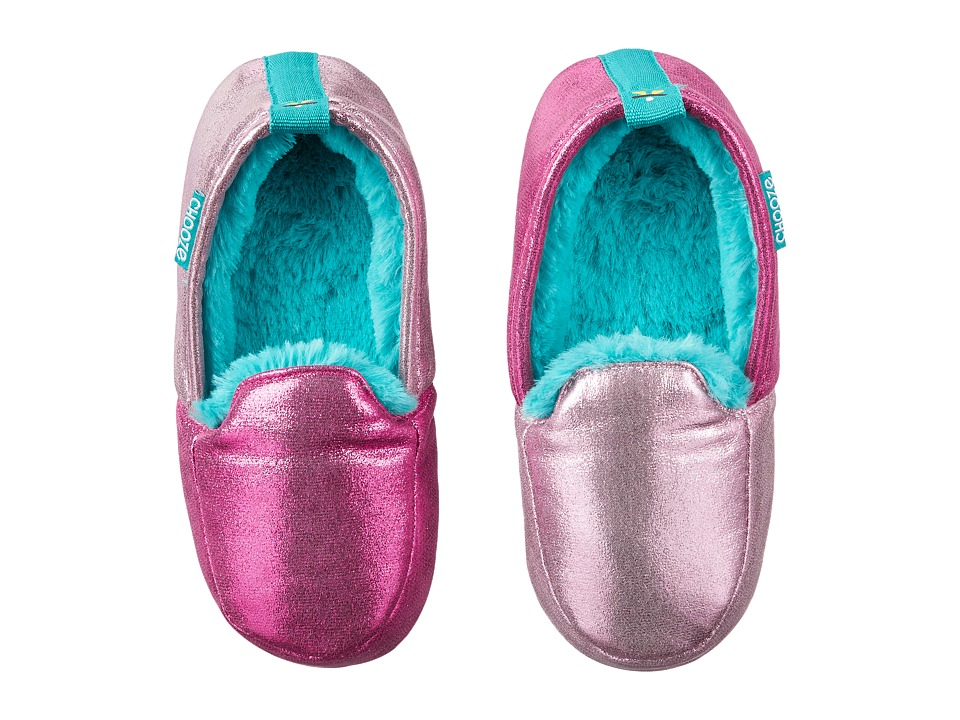 CHOOZE - Slumber Slippers (Toddler/Little Kid/Big Kid) (Glitz) Girls Shoes