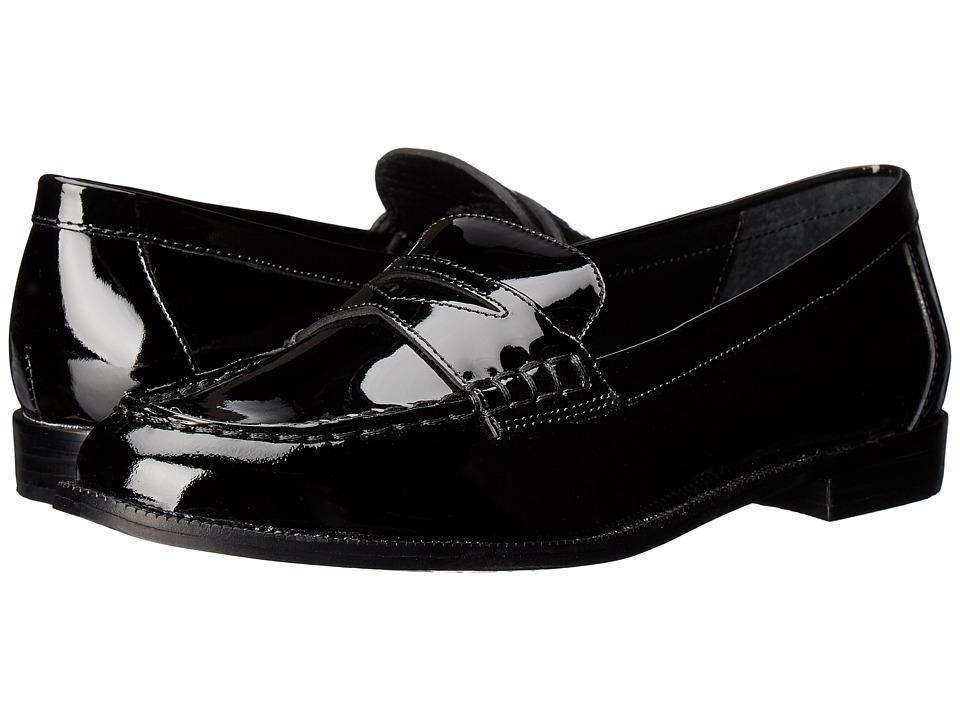 LAUREN Ralph Lauren Barrett (Black Patent Leather) Women