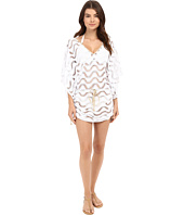 Luli Fama - Buena Onda Cabana V-Neck Dress Cover-Up