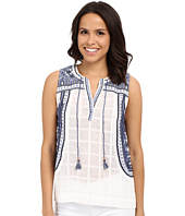 Lucky Brand - Embroidered Blouse