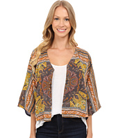 Lucky Brand - Scarf Print Jacket