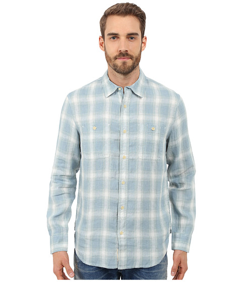 Lucky Brand Plaid Two-Pocket Workwear Shirt