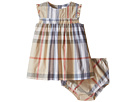 Burberry Kids Aaluf Dress with Frill Sleeve (Infant)