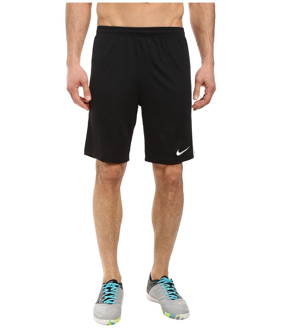 Nike Dry Academy Soccer Short (Black/White/White/White) Men